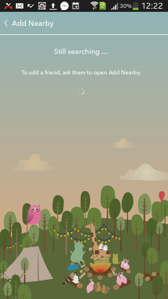 Find friends with Near by