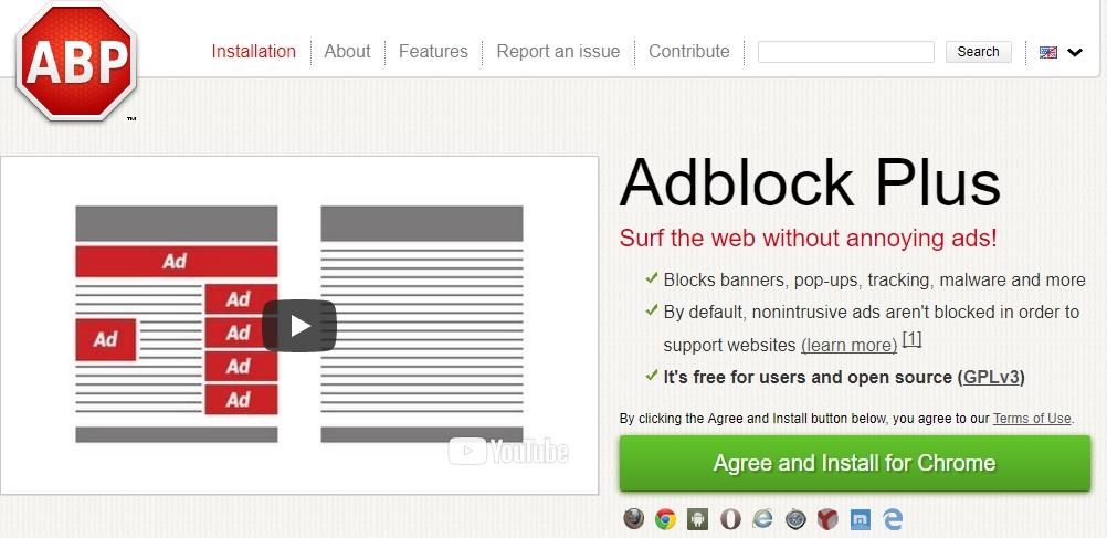 AdBlock Pro Extension