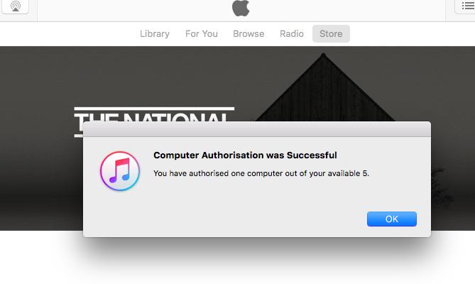 Computer is Authorised