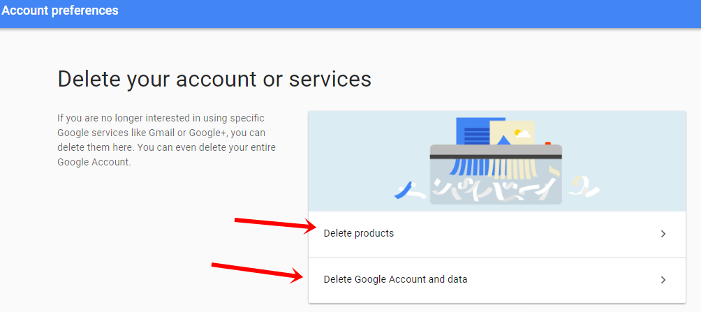 Delete gmail with or without data