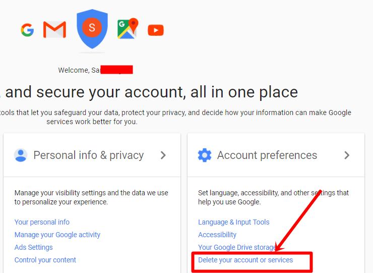 Gmail.com account preferences