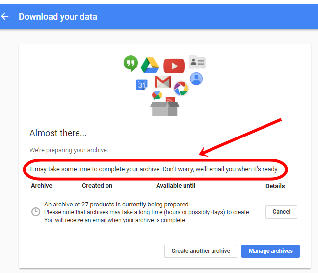 How to take backup of Gmail.com