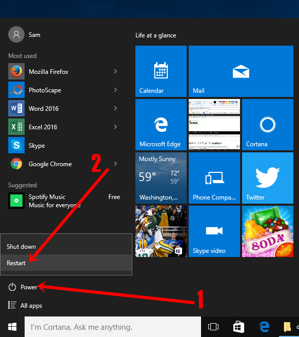 how to change from safe mode in windows ten
