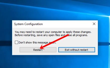 Restart PC