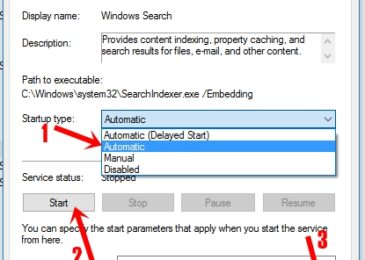 How to fix Windows 10 Search not Working Problem