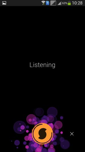 soundhound app listening