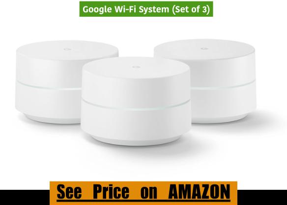 Google Wi-Fi System (Set of 3)