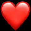 red heart Emoji Snapchat