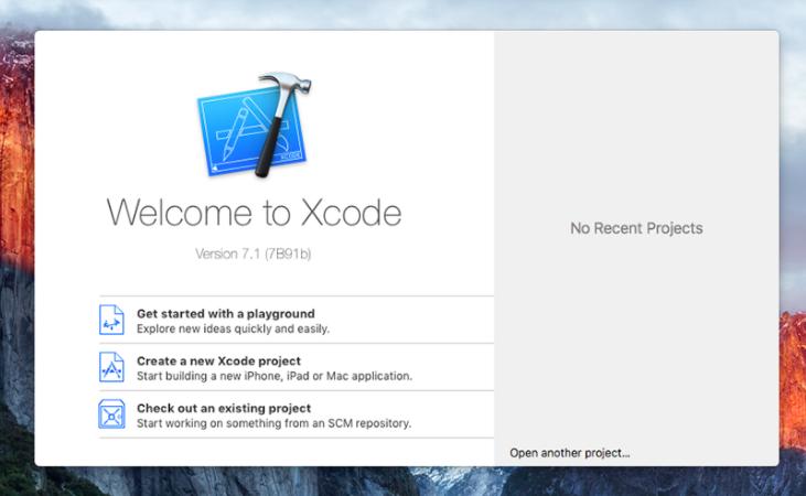 how to run xcode on windows 7