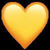 yellow-heart_emoji Snapchat